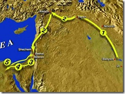 From UR to Canaan to Egypt